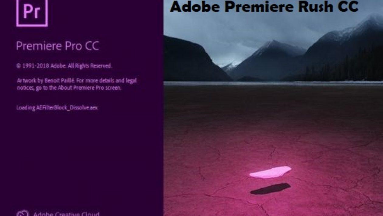 Adobe Premiere Rush CC 2019 v1.1 for Mac