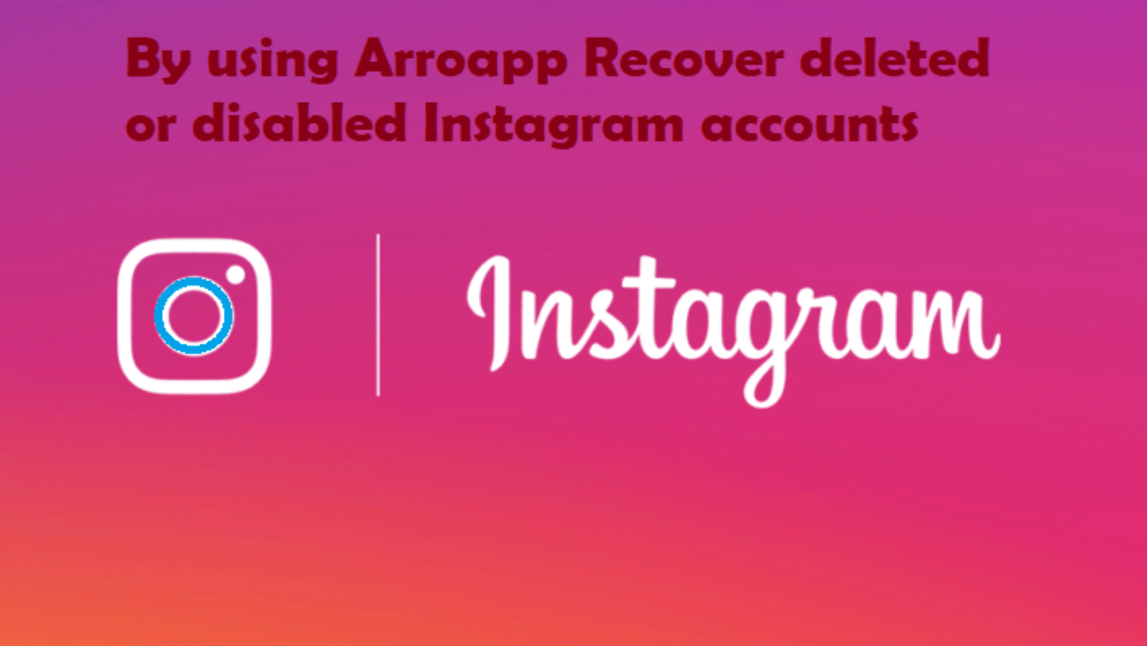 using Arroapp Recover