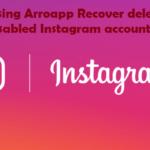 using Arroapp Recover