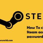 steam change password