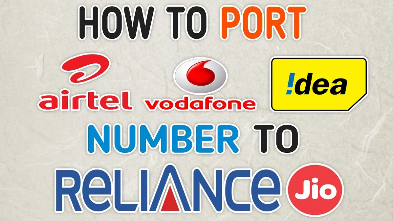 how to port airtel to jio