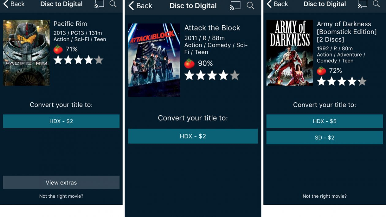 vudu disc to digital