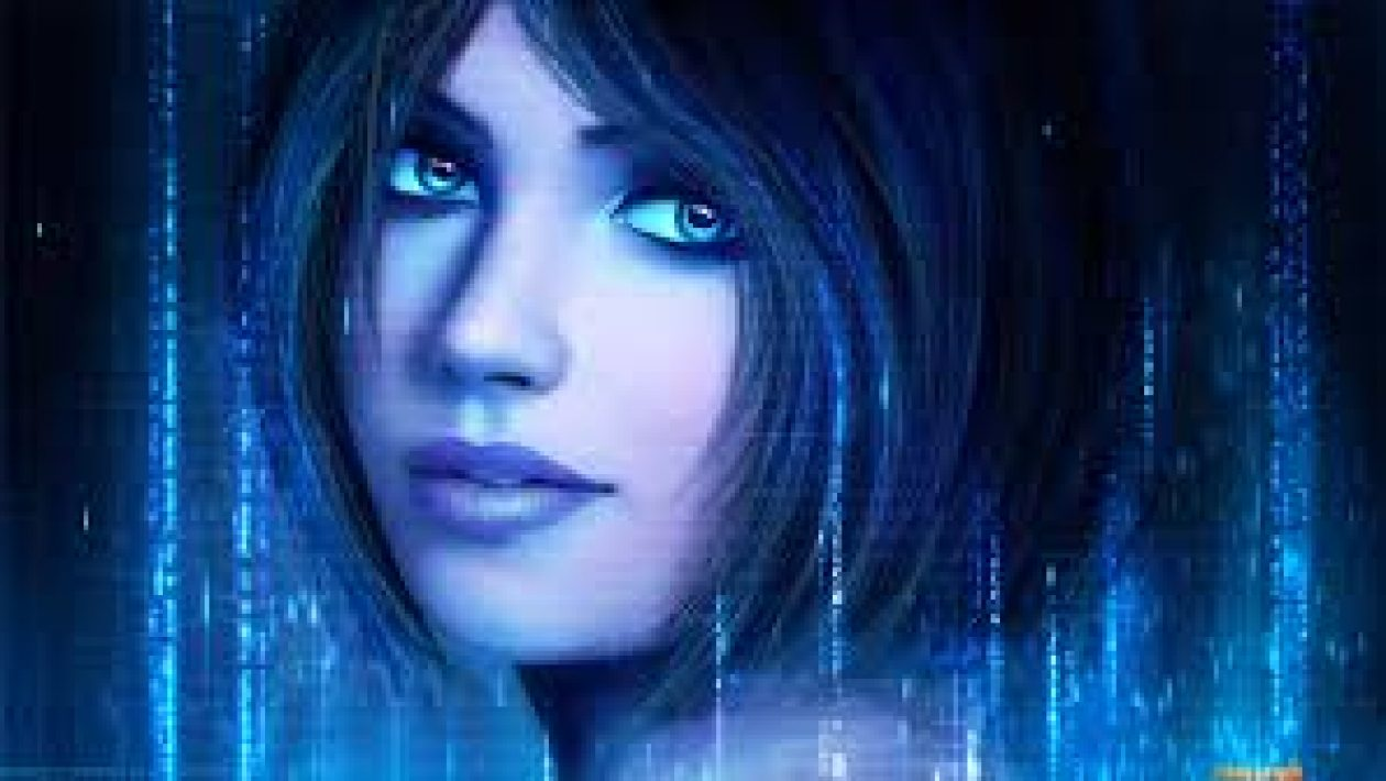 cortana video game character