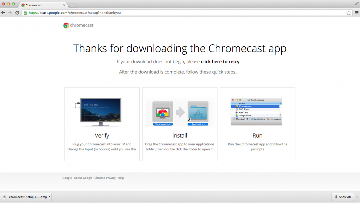 Chromecast app for pc