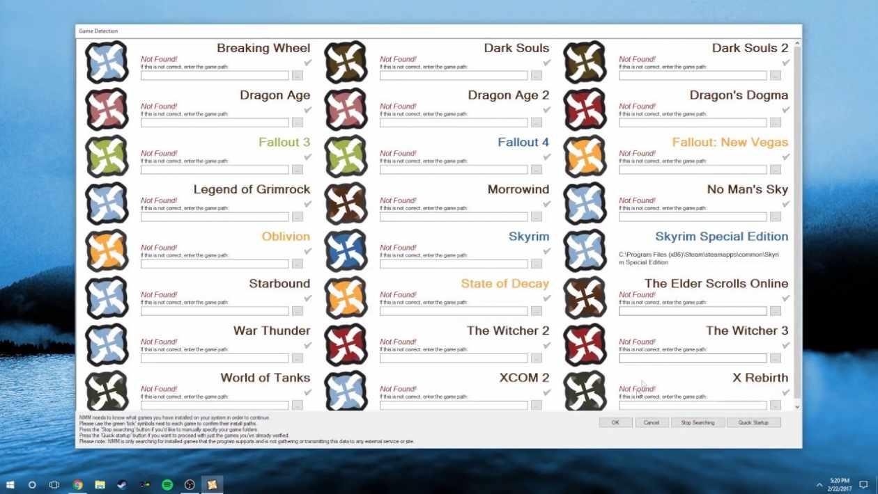 Nexus Mod Manager Skyrim