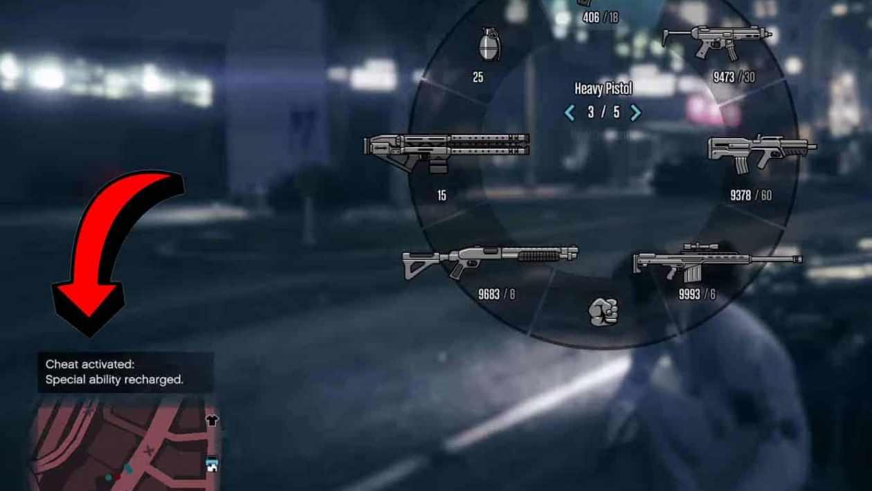 ps4 GTA 5 cheats