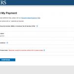 IRS stimulus check portal