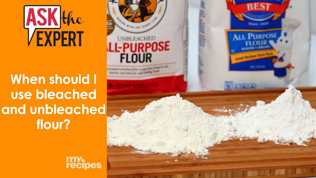 beached vs unbleached flour