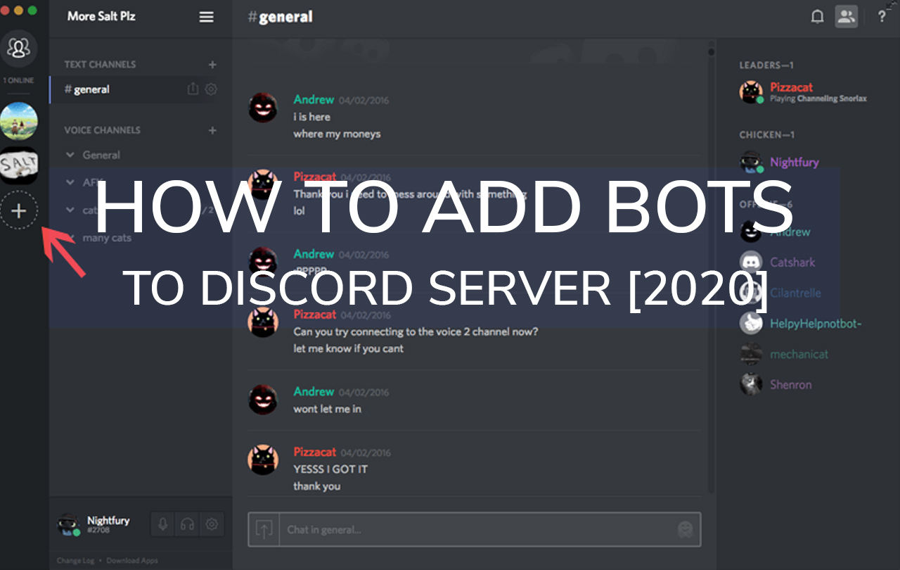how to add bots in discord