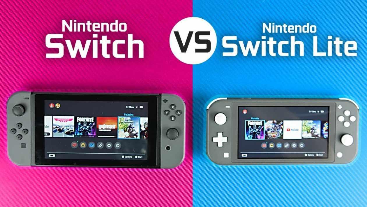 Switch lite vs switch