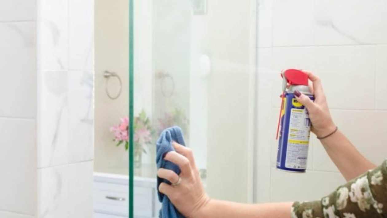 glass cleaner for shower