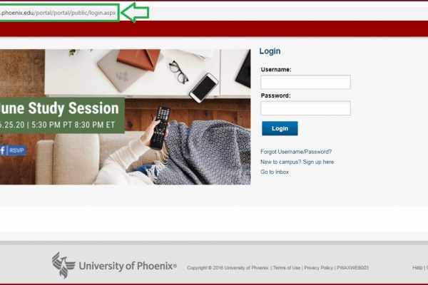 university of phoenix ecampus