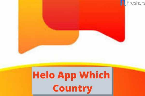 Helo app which country
