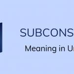 subconscious meaning in Urdu